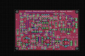 RADIO KITS IN JA: NE612 ダイレクトコンバージョン受信機基板